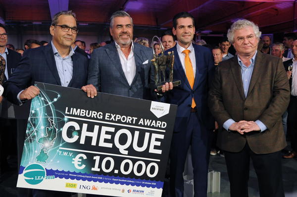 LEA Winnaar Export prijs in Kessel 600px